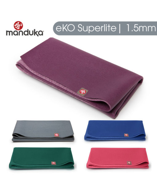 Thảm yoga du lịch Manduka – eKO SuperLite 1.5mm-a